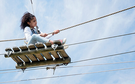 High Ropes at Hobbledown