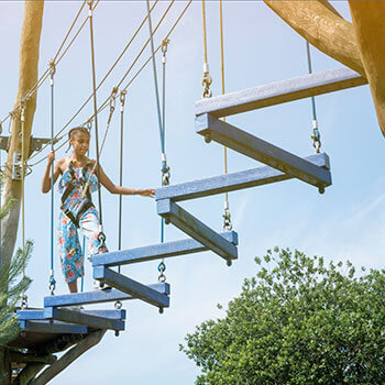 High Ropes Birthday Parties