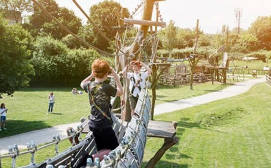 Hobbledown High Ropes