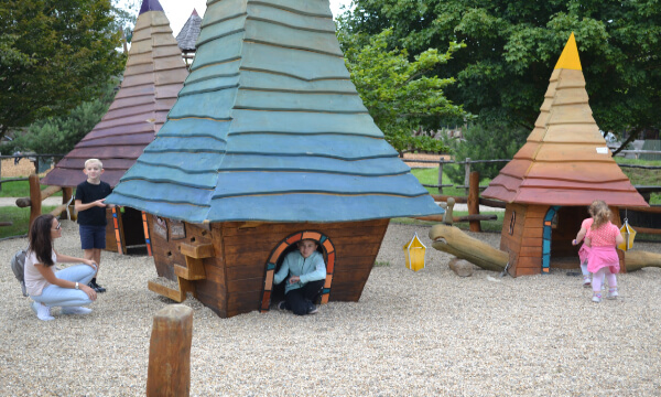 Mining Village Role Play Huts